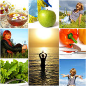 Healthy lifestyle concept — Stockfoto