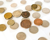 Old coins collection — Stock Photo