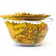 Stock Photo: Colorful noodles in a bowl