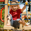 Cute little girl on playground — Stock Photo #1127434