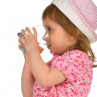 Little girl drink the water — Stock Photo #1127951