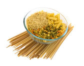 Colorful noodles in a bowl — Stock Photo