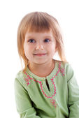 Small girl close-up — Stock Photo