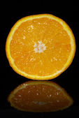 Sweet ripe orange — Stock Photo