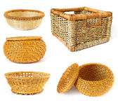 Collection of baskets — Stock Photo