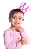 Cute little princess — Stock Photo