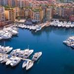 Marina of Monte Carlo in Monaco — Stock Photo #1101535