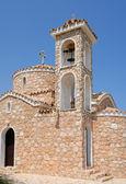 Kostel a zvonice — Stock fotografie