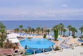 Resort beach — Stock Photo