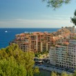 Modern apartment houses in Monte Carlo - Stock Photo