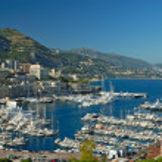 Marina of Monte Carlo in Monaco — Stock Photo
