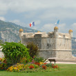 Stock Photo: Bastion in port of Menton