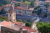 View of medieval town in Italy — Stock Photo