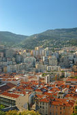 Panoramic view of Monte Carlo — Stock Photo