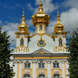 Church of the big Peterhof palace — Stock Photo