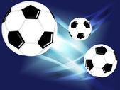 Piłka piłka nożna — Zdjęcie stockowe