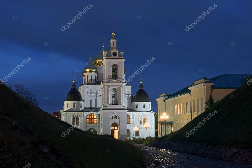 Assumption Cathedral. Built in 1507-1533 years.  Stock Photo #1095557