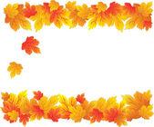 Herfstbladeren patroon — Stockvector