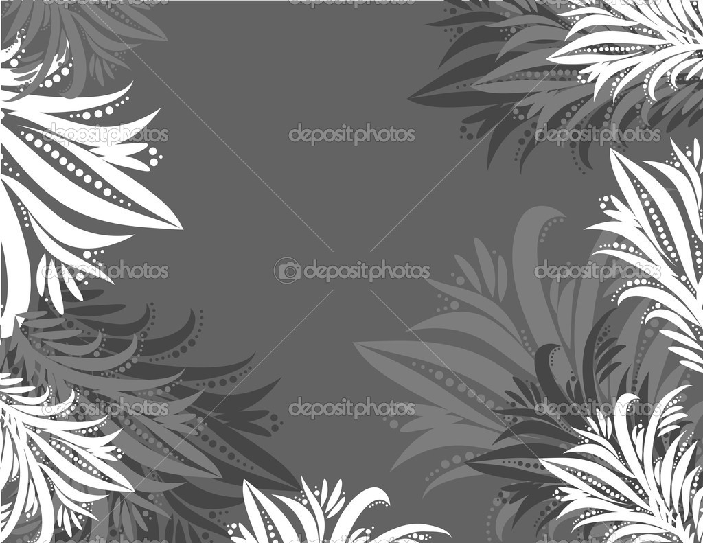 The vector illustration contains the image of grey background — Stock Vector #1100394