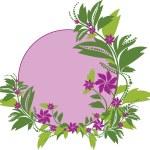 Floral frame — Stock Vector #1134497
