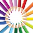 Color pencils — Stock Vector