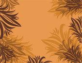 橙色 backhround — 图库矢量图片