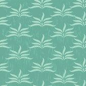 Sömlös grön bakgrund — Stockvektor