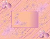 Violet christmas balls — Stock vektor