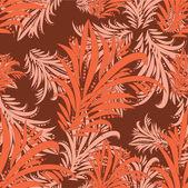 Seamless floral pattern — Cтоковый вектор