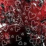 Grunge valentines background — Stock Vector