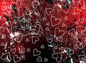 Grunge valentines background — Stockvektor