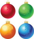 圣诞玩具 — 图库矢量图片