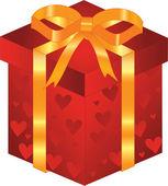Valentine gift — Stockvektor