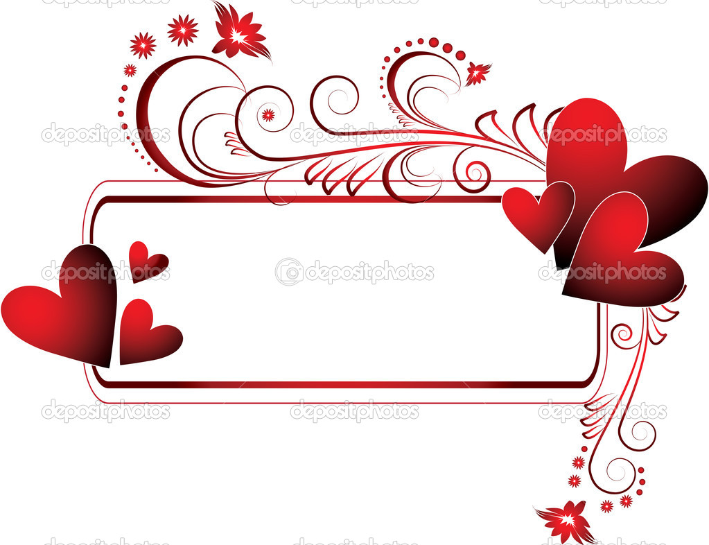 The vector illustration contains the image of  valentines background  Stok Vektr #1723352