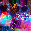 Celebration's illumination - blur - Stock Photo