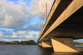 Riga island bridge — ストック写真