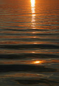 Sunset water background — Stock Photo
