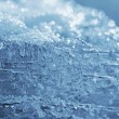 Stock Photo: Natural blue ice and snow