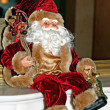 Stock Photo: SantClaus toy
