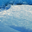 Closeup of blue ice — Stock Photo #1159659