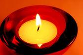 蜡烛烧 — 图库照片
