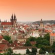 View on the Prague - Stock Photo