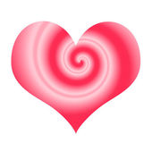 Stylized love symbol — Stock Photo
