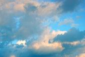 Evening sky background — Stock Photo