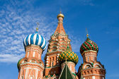 St. Basil Cathedral. Moscow. Russia. — Stock Photo