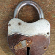 Old rusty padlock — Stock Photo #2016675