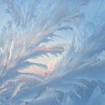 gefroren glas — Stockfoto