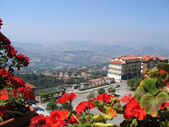 View to Republic of San Marino — Stock Photo