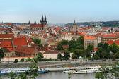 View on the Prague — 图库照片