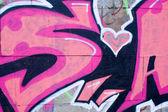 Letras de graffiti — Fotografia Stock